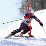 Slalom in Abetone Italy